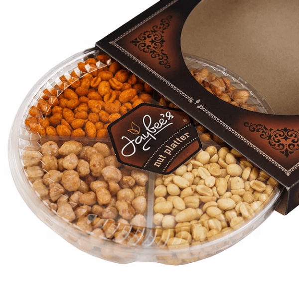 Assorted Peanuts Gift Basket (4 Section)